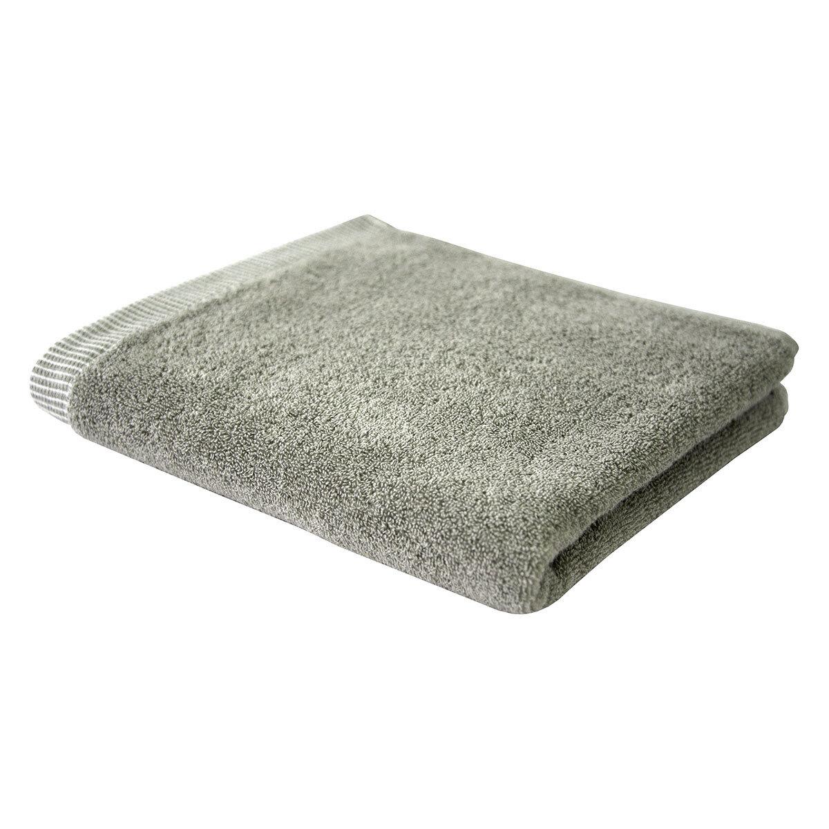Dyckhoff Frottierserie Basic Line Pünktchen silber Handtuch Duschtuch