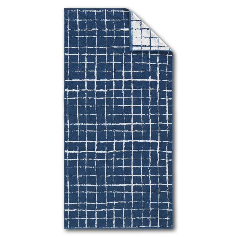 Dyckhoff Frottierserie Blue Island SQUARE Handtuch (50 x 100 cm)