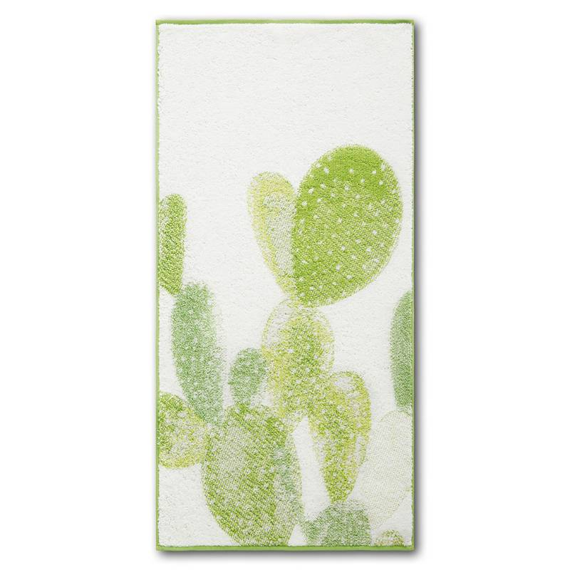 Dyckhoff Frottierserie Green Paradise CACTUS Handtuch (50 x 100 cm)